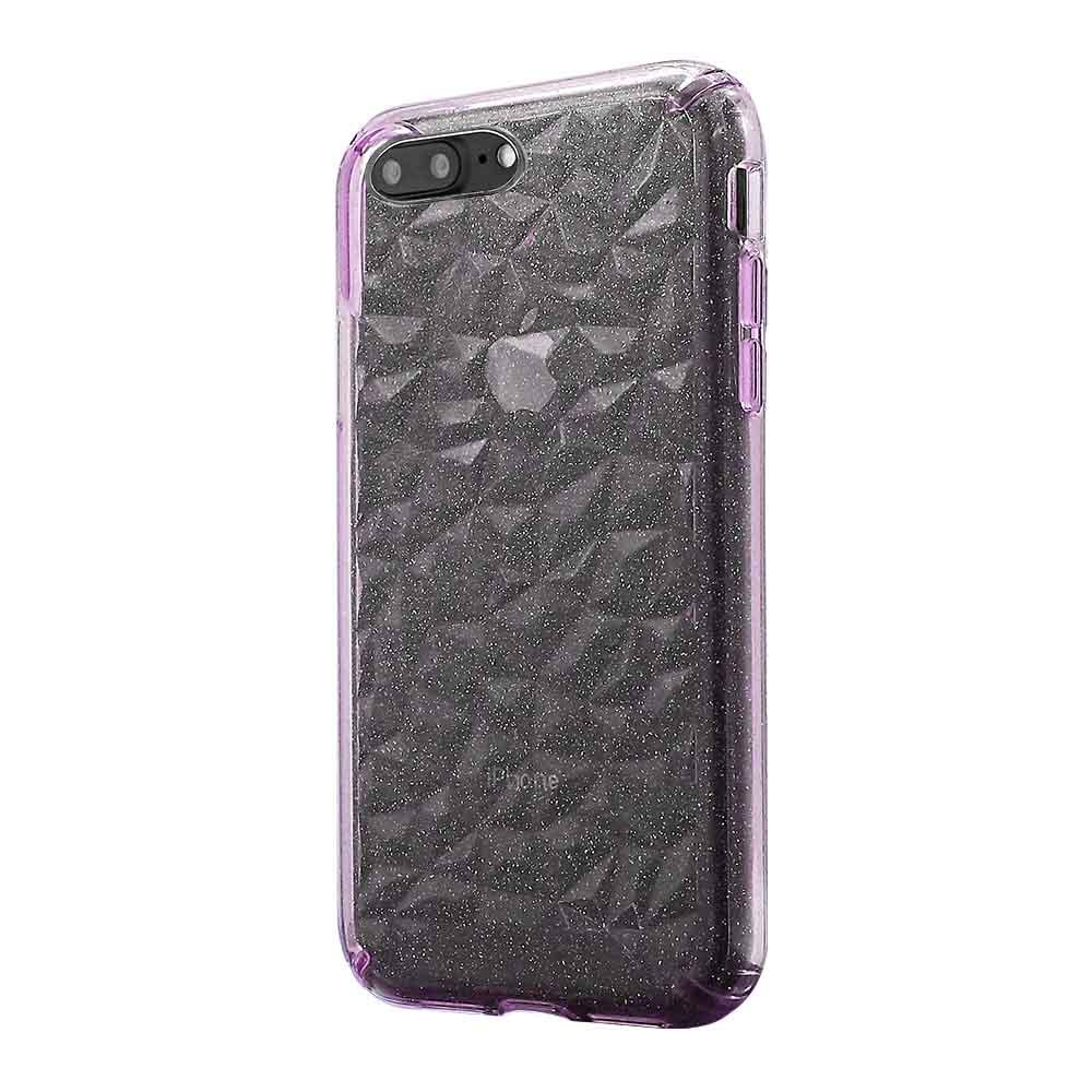 3D Crystal Case  for iPhone 7/8 Plus - Glitter Pink