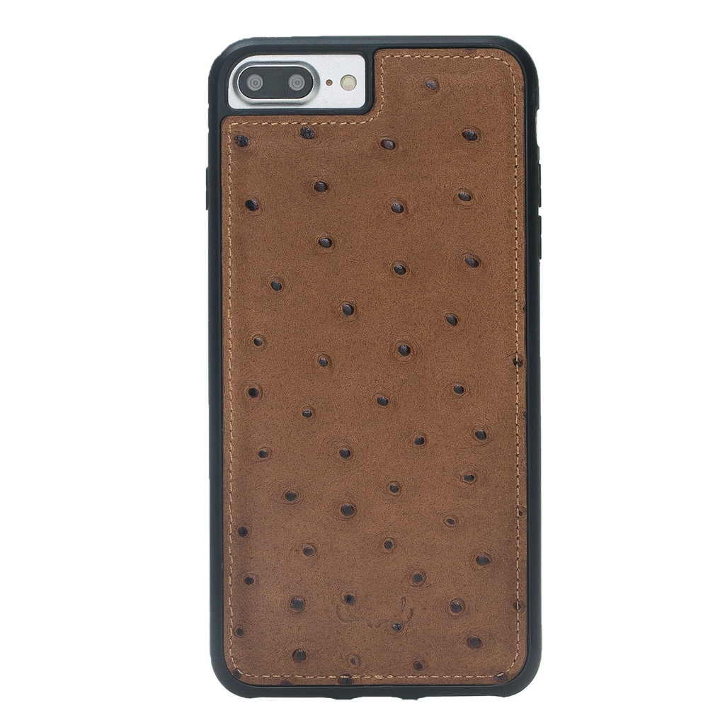 BNT Flex Cover Ostrich for iPhone 7/8 Plus - Camel