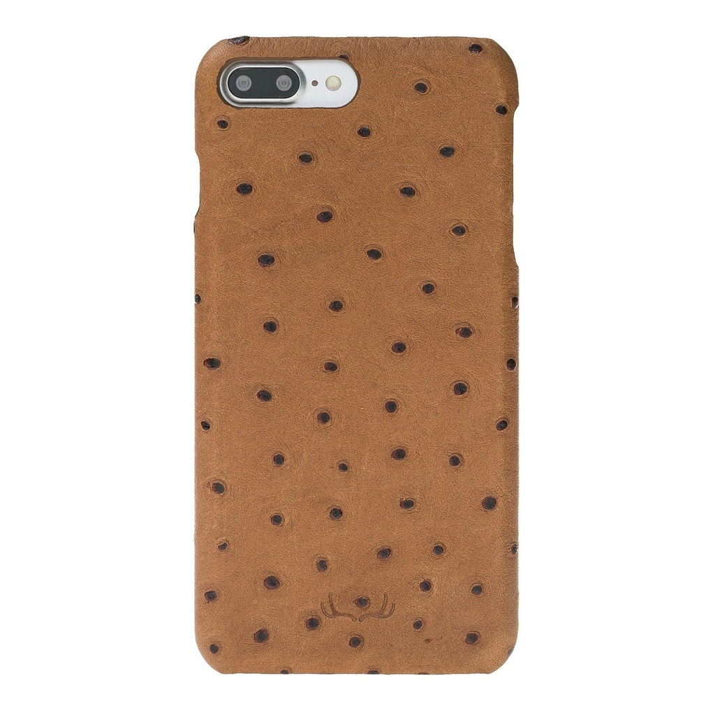 BNT Ultimate Jacket Ostrich for iPhone 7/8 Plus - Camel