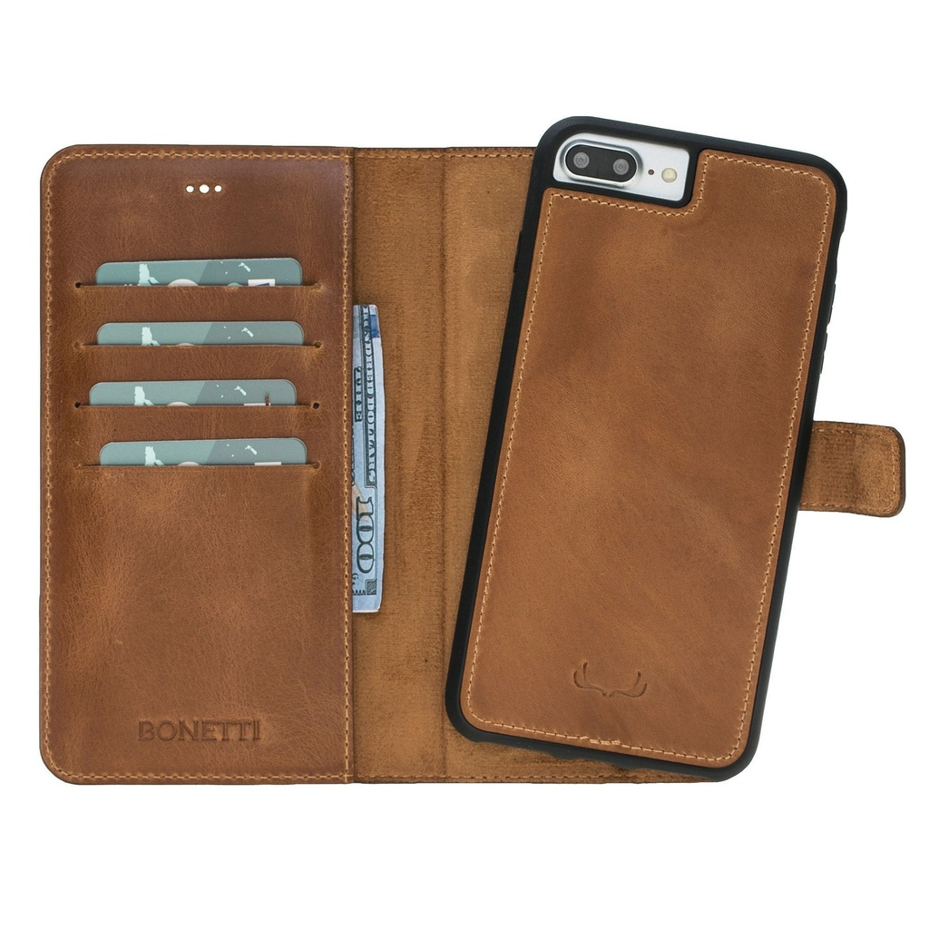 BNT Wallet  Magnet Magic  for iPhone 7/8 Plus - Brown