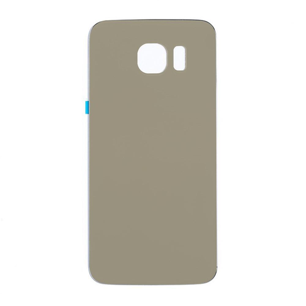 Back Cover Glass for Samsung Galaxy S6 Gold