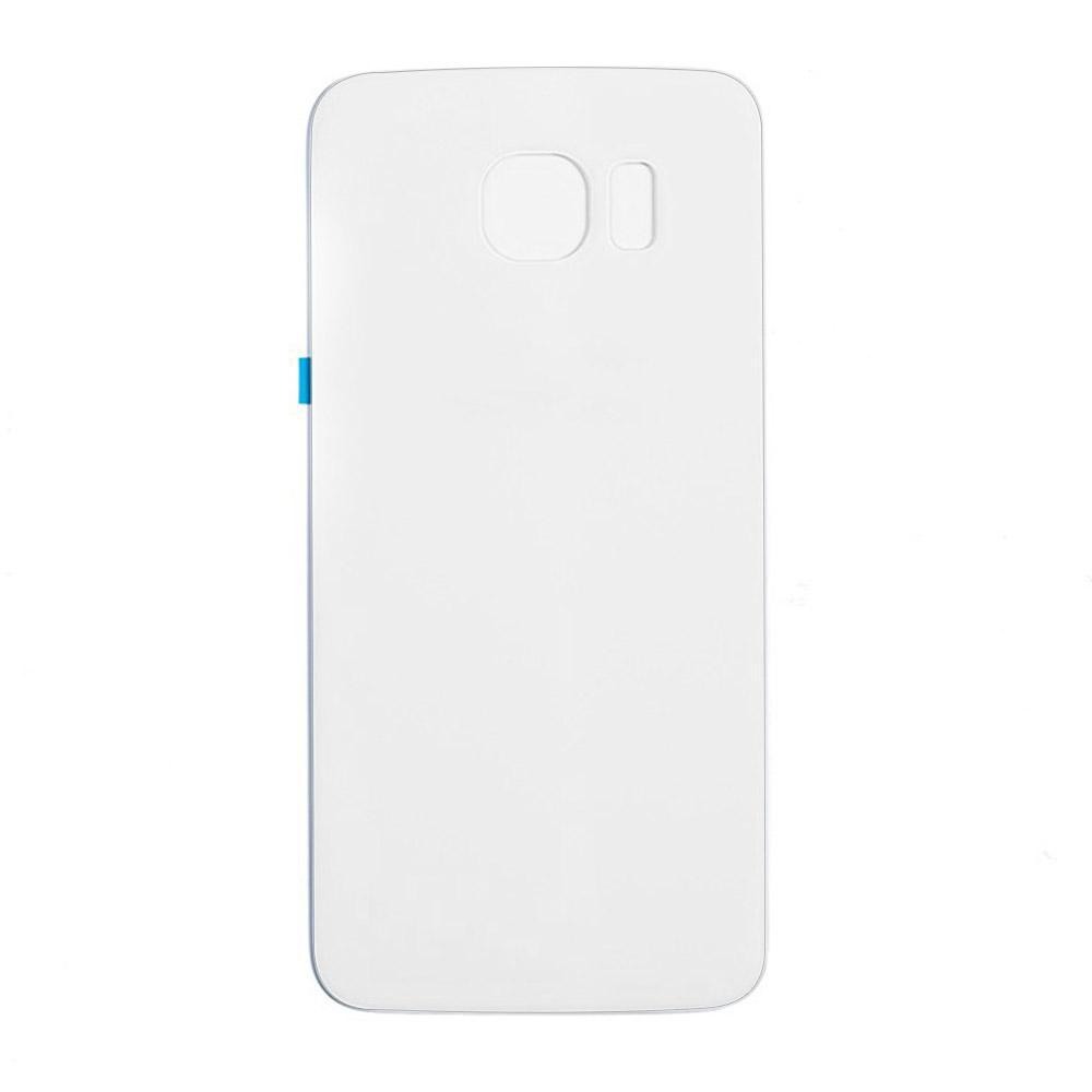 Back Cover Glass for Samsung Galaxy S6 White