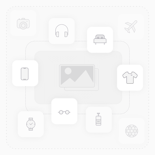 Bumper Hybrid Combo Layer Protective Case  for iPhone 11 - Red & Black