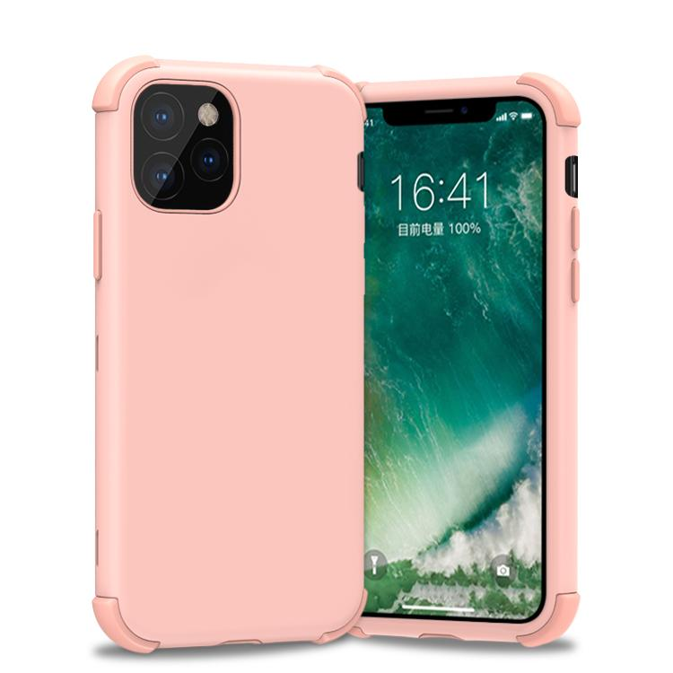 Bumper Hybrid Combo Layer Protective Case  for iPhone 11 - Rose Gold