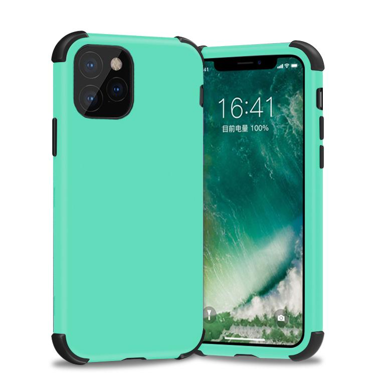 Bumper Hybrid Combo Layer Protective Case  for iPhone 11 - Teal & Black