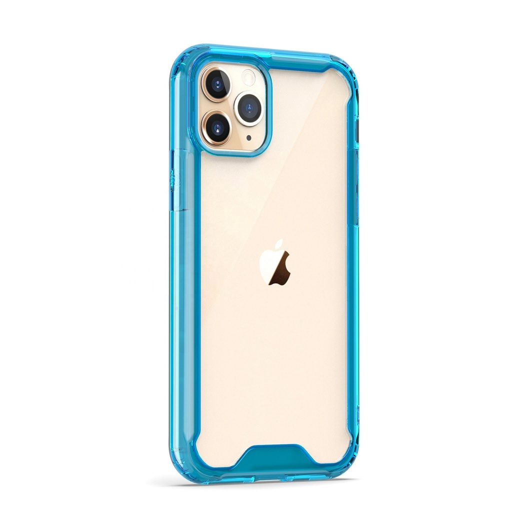 Acrylic Transparent Case  for iPhone 11 Pro - Blue