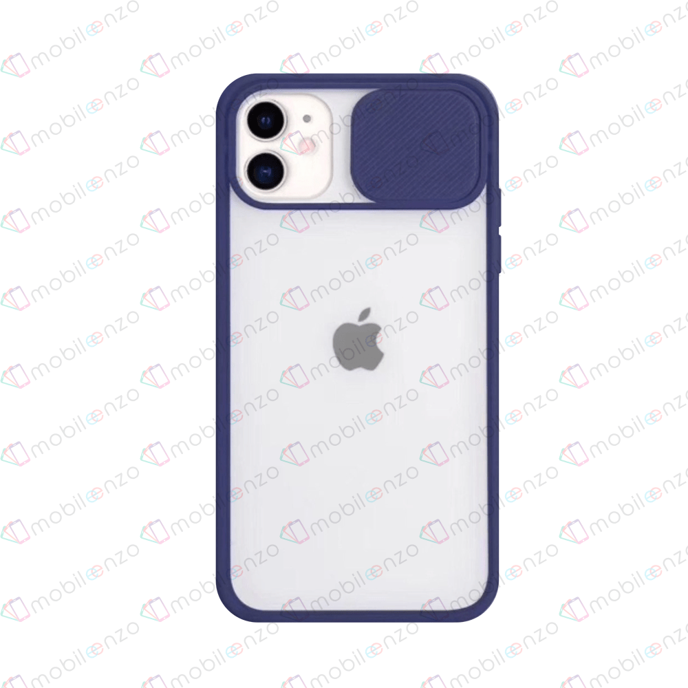 Camera Protector Case for iPhone 11 Pro - Navy Blue