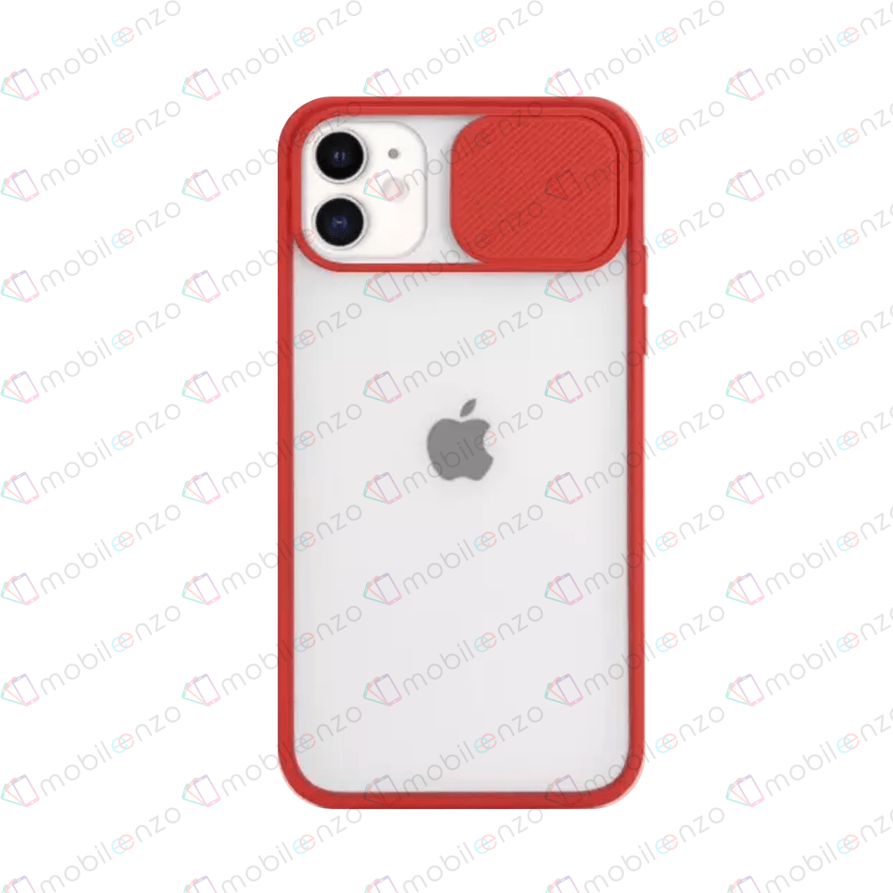 Camera Protector Case for iPhone 11 Pro Max - Red