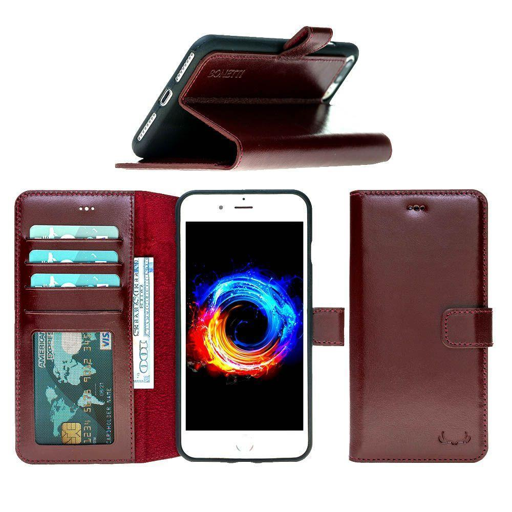 BNT Wallet ID Window  for iPhone 6/6S - Burgundy