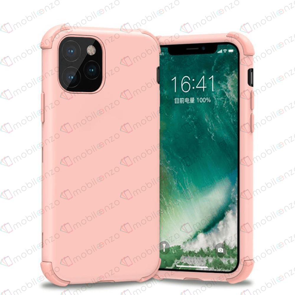 Bumper Hybrid Combo Case for iPhone 12 (6.1) - Rose Gold