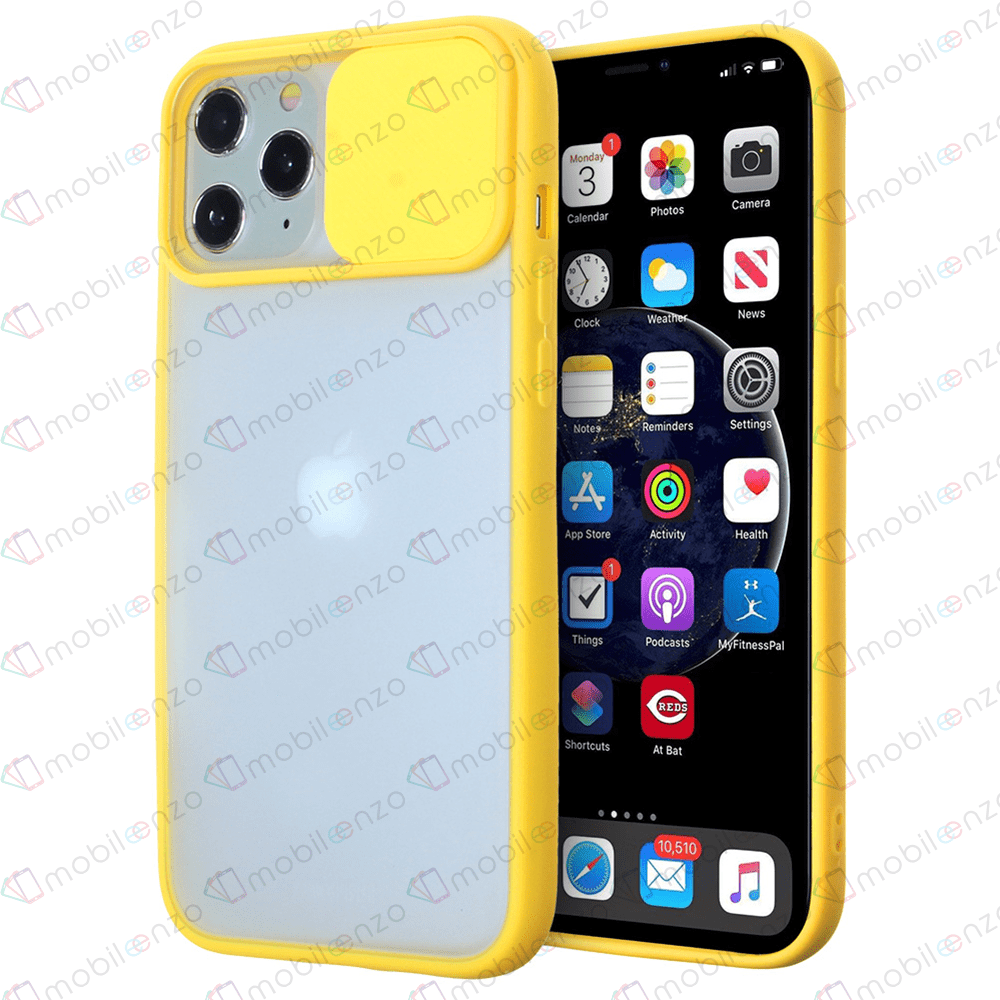 Camera Protector Case for iPhone 12 (6.1) - Yellow