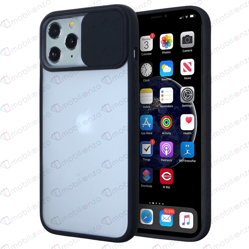 Camera Protector Case for iPhone 12 Mini (5.4) - Black