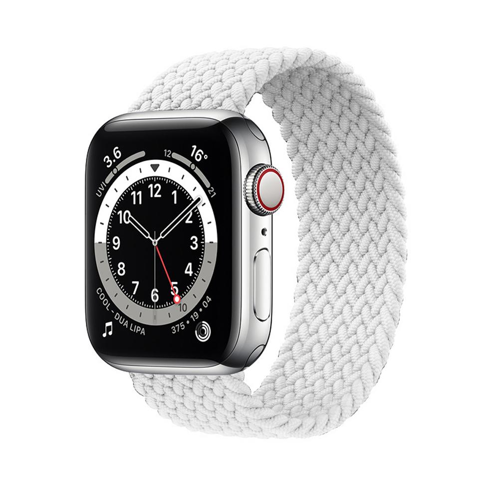 Braided iWatch Band 38/40 mm - White