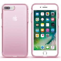 [CS-I7P-TSC-PN] Transparent Color Case  for iPhone 7/8 Plus- Pink