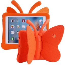 [CS-IPAIR2-BT-OR] Butterfly Case  for iPad Air 1/Air 2/ 9.7/iPad 5 (2017)/iPad 6(2018) - Orange