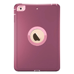 [CS-IPAIR2-OBD-BULPN] DualPro Protector Case  for iPad Air 2/9.7 - Burgundy & Light Pink