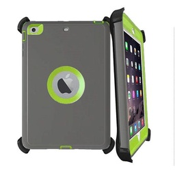 [CS-IPAIR2-OBD-GYLGR] DualPro Protector Case  for iPad Air 2/9.7 - Dark Grey & Light Green