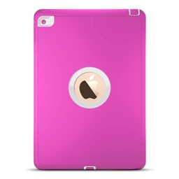 [CS-IPAIR2-OBD-PNWH] DualPro Protector Case  for iPad Air 2/9.7 - Pink & White