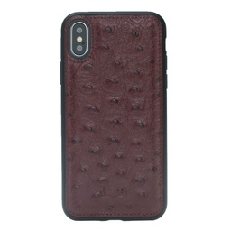 [CS-IX-BFC-OS-RD] BNT Flex Cover Ostrich for iPhone X/Xs - Red