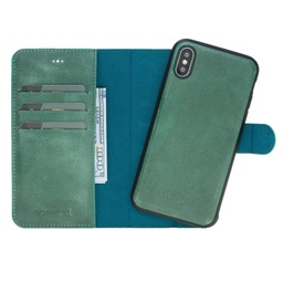 [CS-IX-BWMM-TQ] BNT Wallet  Magnet Magic  for iPhone X/Xs - Turquoise