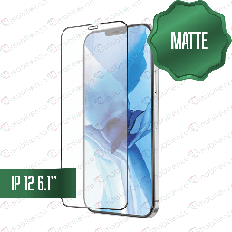 "[TG-I12-MT] Matte Tempered Glass for iPhone 12 / 12 Pro (6.1"")"