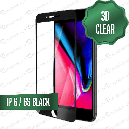 [TG-I6-3D-BK] 3D Tempered Glass for iPhone 6 - black