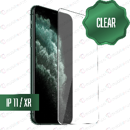 [TG-IXR] Clear Tempered Glass for iPhone XR / 11 (10 Pcs)