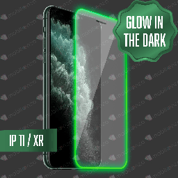 [TG-IXR-GWD] Tempered Glass for iPhone XR / 11 - Glow in the Dark