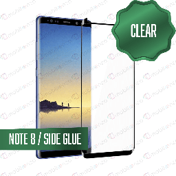 [TG-N8-BK] Tempered Glass for Samsung Galaxy Note 8 Black