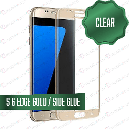 [TG-S6E-GO] Tempered Glass for Samsung Galaxy S6E Gold