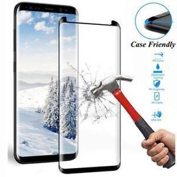 [TG-S8-BK] Tempered Glass for Samsung Galaxy S8 Black