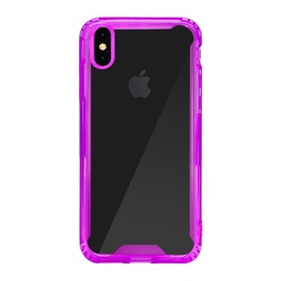 [CS-IXSM-ATC-PU] Acrylic Transparent Case  for iPhone Xs Max - Purple