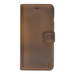 [CS-IXSM-BWIW-BW] BNT Wallet ID Window  for iPhone Xs Max - Brown