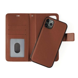 [CS-IXSM-CMC-BW] Classic Magnet Wallet Case  for iPhone Xs Max - Brown