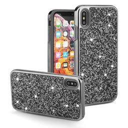 [CS-IXSM-COD-BK] Color Diamond Hard Shell Case  for iPhone Xs Max - Black