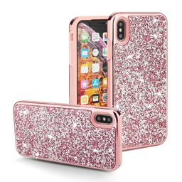 [CS-IXSM-COD-PN] Color Diamond Hard Shell Case  for iPhone Xs Max - Pink