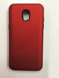 [CS-J3-2018-HCL-RD] Hybrid Combo Layer Protective Case  for Samsung J3 2018 - Red