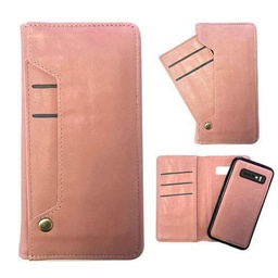 [CS-N10-LDC-ROGO] Ludic Leather Wallet Case  for Galaxy Note 10 - Rose Gold