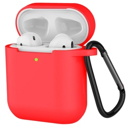 [CS-AP-PMS-RD] Premium Silicone Case for Airpod - Red