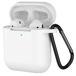 [CS-AP-PMS-WH] Premium Silicone Case for Airpod - White