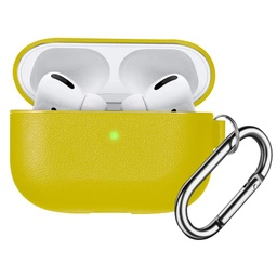 [CS-APP-PMS-YL] Premium Silicone Case for AirPods Pro - Yellow