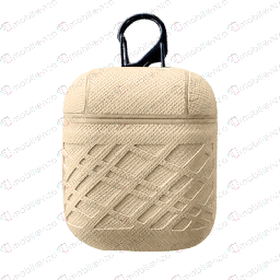 [CS-AP-ZG-BG] Zig Zag Case for Apple Airpods - Beige