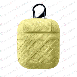 [CS-AP-ZG-YL] Zig Zag Case for Apple Airpods - Yellow