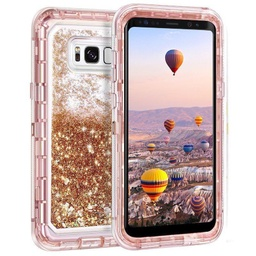 [CS-S10P-LP-ROGO] Liquid Protector Case  for Galaxy S10 Plus - Rose Gold