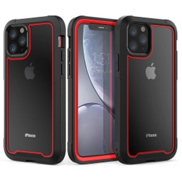 [CS-I11P-2N1S-RD] 2N1 Sport Case  for iPhone 11 Pro - Red