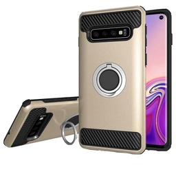 [CS-S10P-MDR-GO] MD Ring Case  for Galaxy S10 Plus - Gold