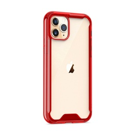 [CS-I11P-ATC-RD] Acrylic Transparent Case  for iPhone 11 Pro - Red