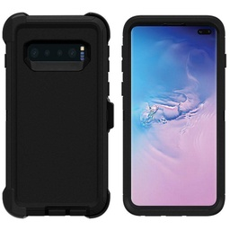[CS-S10P-OBD-BK] DualPro Protector Case  for Galaxy S10 Plus - Black