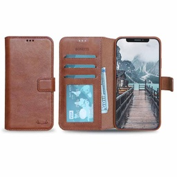 [CS-I11P-BWIW-BW] BNT Wallet ID Window  for iPhone 11 Pro - Brown