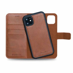 [CS-I11P-BWMM-BW] BNT Wallet  Magnet Magic  for iPhone 11 Pro - Brown